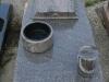 Urnenplatte aus Granit